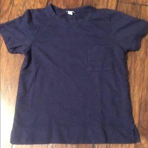 Navy Jcrew t-shirt w/ frocket